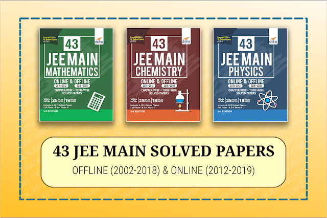 Download Disha Set of 43 Physics,Chemistry, Mathematics JEE Main Solved Papers (2002-2019) EBOOK Pdf